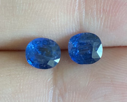 1.90ct unheated blue sapphire