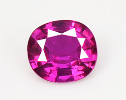 Ruby BURMA 0.45 Cts Pinkish Red Natural Loose Gemstone