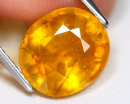 Yellow Sapphire 5.75Ct Oval Cut Yellow Color Sapphire A1417