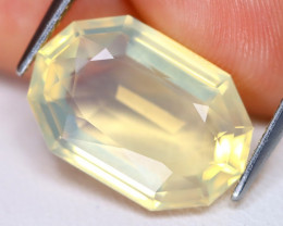 Jelly Opal 5.67Ct Fancy Oval Cut Natural Mexican Jelly Yellow Opal B1413