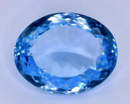 21.34 Crt  Topaz Faceted Gemstone (Rk-43)