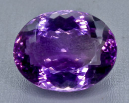 37.65 Crt  Amethyst Faceted Gemstone (Rk-43)