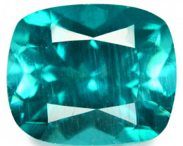 Apatite 4.12 Cts Un Heated Natural Greenish Blue Loose Gemstone