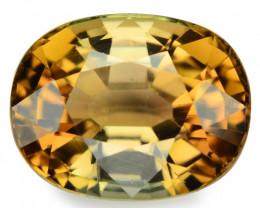 Tourmaline 3.59 Natural Bi-Color Loose Gemstone