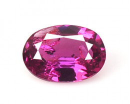 *No Reserve*Ruby BURMA 0.34 Cts Unheated Pinkish Red Natural Gemstone