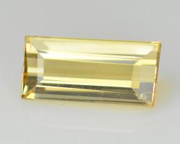 Tourmaline 0.71 Cts Bellini Yellow Step cut BGC999