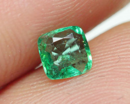 0.335 CRT STUNNING CLEAR COLOR COLOMBIAN EMERALD-