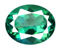 *No Reserve*Topaz 4.45 Cts Green Color Natural Loose Gemstone