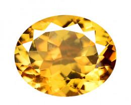 *No Reserve*Mystic Quartz 4.16 Cts Rare Fancy Orange Color Natural