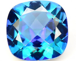 Azotic Topaz 7.36 Cts Rare Fancy Blue Color Natural