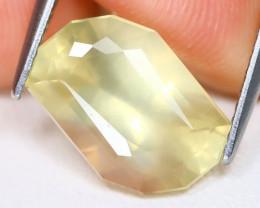 Scapolite 4.57Ct VS Fancy Cut Natural Yellow Color Scapolite B1517