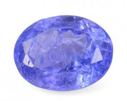 *No Reserve* Tanzanite 2.12 Cts Amazing rare Violet Blue Color Natural Gems