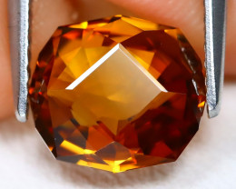 Orange Zircon 3.14Ct VVS Master Cut Natural Orange Zircon C1502