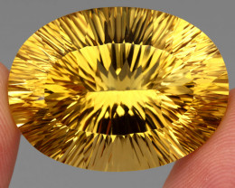 60.29 ct. 100% Natural Earth Mined Unheated Top Yellow Golden Citrine Braz