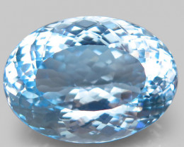37.93  ct. Unheated! Natural Earth Mined Top Quality Blue Topaz Brazil
