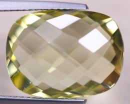 10.32ct Natural Lemon Quartz Octagon Cut Lot V8598