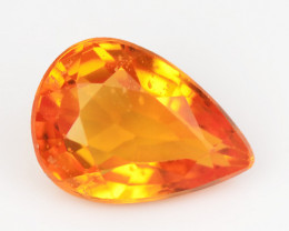 Fire Orange Sapphire 0.97 Cts Amazing Rare Natural Fancy Loose Gemstone