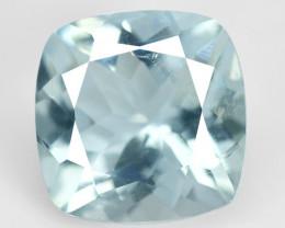 Aquamarine 2.14 Cts Un Heated Blue Natural Loose Gemstone