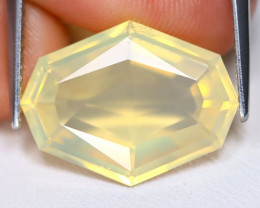 Jelly Opal 5.20Ct Fancy Oval Cut Natural Mexican Yellow Jelly Opal A1609