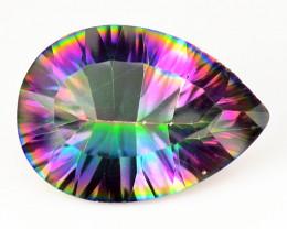 *NoReserve*Mystic Quartz 3.96 Cts Rare Fancy Rainbow Color Natural