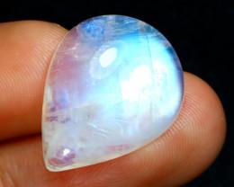 Rainbow Moonstone 11.15Ct Natural Flash Color Rainbow Moonstone B1603