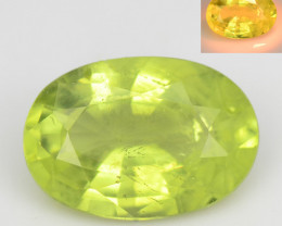 *No Reserve*Alexandrite Chrysoberyl 1.15 Cts Yellowish Green Natural  Gemst