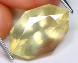 Scapolite 9.61Ct VS Fancy Oval Cut Natural Yellow Color Scapolite C1617