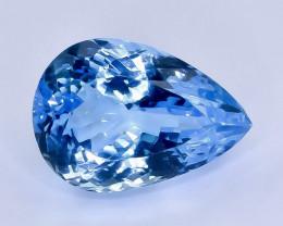 17.20 Crt Topaz Faceted Gemstone (Rk-44)