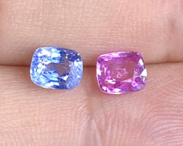 1.56ct natural unheated sapphire