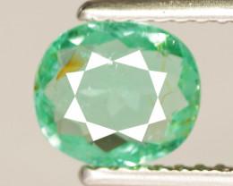 0.78 Cts Copper Bearing Natural Neon Green Paraiba Tourmaline