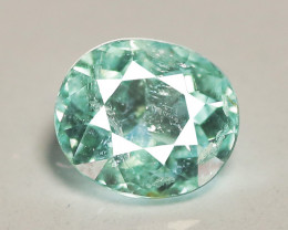 0.51 Cts Copper Bearing Natural Neon Green Paraiba Tourmaline