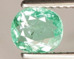 0.62 Cts Copper Bearing Natural Neon Green Paraiba Tourmaline