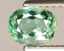 0.69 Cts Copper Bearing Natural Neon Green Paraiba Tourmaline