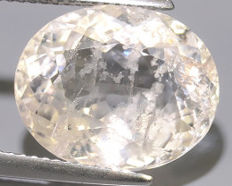 9.45 CTS EXCELLENT NATURAL LUSTER-PEACH MORGANITE OVAL GEM!!