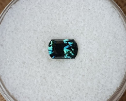 0,82ct teal to green colour change Sapphire - Master cut