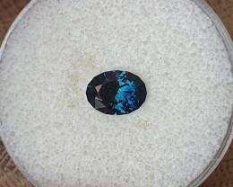 2,02ct dark blue to light blue colour shift Sapphire - Master cut!