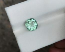 1.95 Ct Natural Greenish Transparent Tourmaline Gemstone