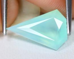 Paraiba Opal 1.64Ct Fancy Cut Natural Peruvian Blue Paraiba Opal B1809
