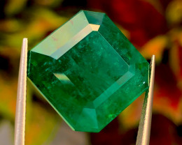 29.07ct  Vivid Green  Emerald 100% natural Gemstone