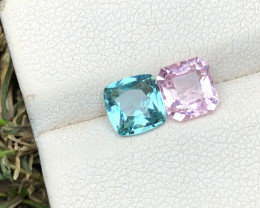 1.70 Ct Natural Blue & Pink Transparent Tourmaline Gems Parcels