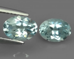 3.20 Cts Nice Quality Natural Aquamarine  Untreated Oval Shape Excellent!