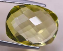 9.26ct Natural Lemon Quartz Octagon Cut Lot V8700