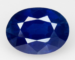 1.53 Ct Natural Blue Sapphire Good Quality  Gemstone SH1