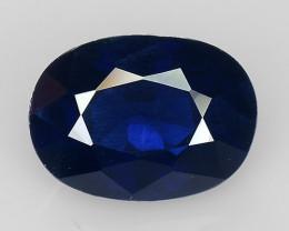 1.07 Ct Natural Blue Sapphire Good Quality  Gemstone SH2