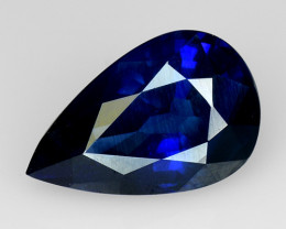 1.60 Ct Natural Blue Sapphire Good Quality  Gemstone SH3