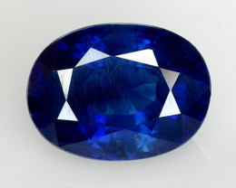 1.78 Ct Natural Blue Sapphire Good Quality  Gemstone SH4