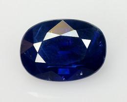 1.18 Ct Natural Blue Sapphire Good Quality  Gemstone SH5