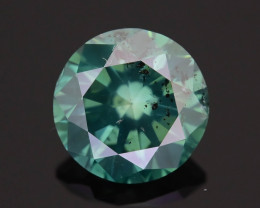 Green Diamond 1.53 ct Top Grade Brilliance SKU-25