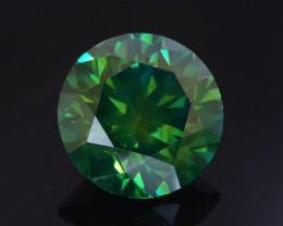 Green Diamond 1.01 ct Top Grade Brilliance SKU-25