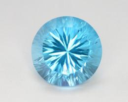 blue Swiss Topaz 36.15 Ct Natural Gemstone